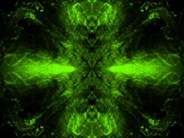 Abstract Background - Green by xXRavenShadowsongXx