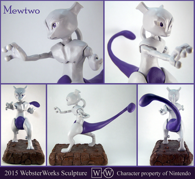 Mewtwo by WebsterWorks