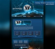 Deep Water Joomla Template WIP by milo13200