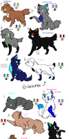 Song adoptables group by WolfSpirit202