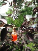 Sekhmet/Nazza Charm Necklace by Warlord-of-Noodles