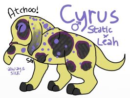 Cyrus by wolfhailstorm
