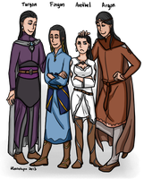 LotR/S: The Children of Fingolfin by Houkakyou