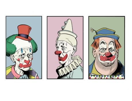 clowns two by angryrooster
