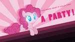 Pinkie Typo ~ Wallpaper by Karl97