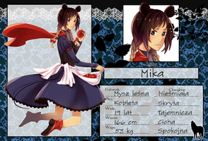 FK: Mika the Forest Mouse by fuarika