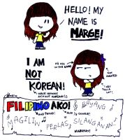 FYI I am not Korean by margemagtoto
