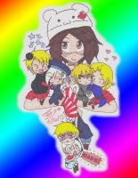 Me and My Hetalia Babies by Stealthy-kitten