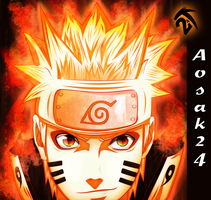 Naruto Uzumaki - Max Power!! by Aosak24