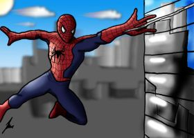 It's Spidee-sam by Aurikan