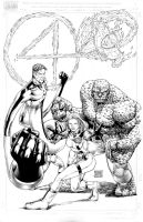 Fantastic Four - Commission by edtadeo