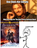 One Does Not Simply PJatO Meme by PJOfan22