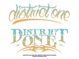 DISTRICT ONE by adiosta