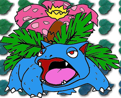 Venusaur by BlackWolves1