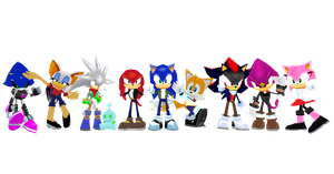 Sonic rivals 2 custom costume DL by Oneirio