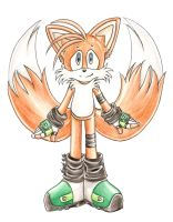 "Miles ""Tails"" Prower by Miayah"