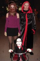2007 Jigsaw, Amanda and Billy by Halloweeners
