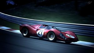 Ferrari 330 P4 - flying by MercilessOne