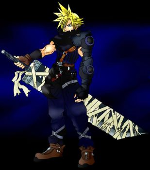 Final Fantasy Cloud 2 by freaky135