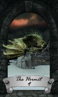 Skyrim Tarot 9 - The Hermit by Whisper292