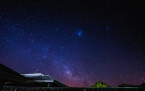 First ever night sky stars attempt by StachRogalski