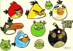 Angry Birds by RachelLou96
