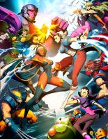 Marvel vs Capcom 3 by GENZOMAN