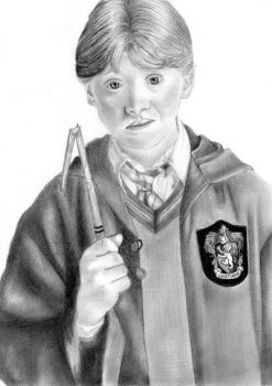 Ron Weasley by twilightlovuuhhh