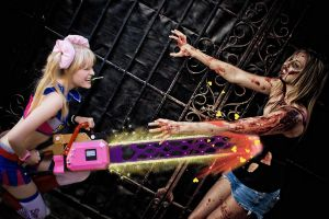 Lollipop Chainsaw Cheesy Effects by fluffikitten