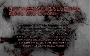 Blood and Chrome Wallpaper by Majestic-MSFC