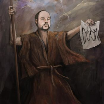 TotalBiscuit - Prophet of Misery by kimded
