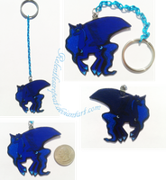 Princess Luna Keychain by RelentlessRepeat