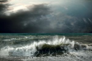 bigstock View of storm seascape by shashaa