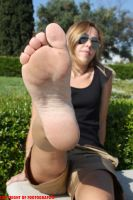 Fedra's Foot In Your Face 7 by Footografo