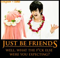 Just Be Friends WTF by songster69