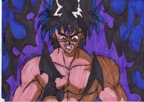 Hiei's Black Fire by ChahlesXavier