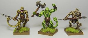MORDHEIM Fimir Warriors by FraterSINISTER