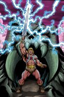 Laklim's He-Man colors by MachSabre