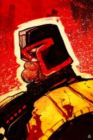 Judge Dredd by Juan Doe by AshcanAllstars
