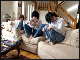 Death Note Group by Pyroluminescence