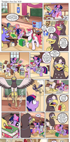 Comic: Twilights First Day 19 [Polish] by doktorwhooves