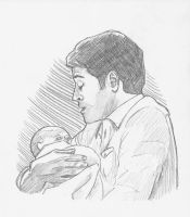 Steve and baby by Reta-Rees