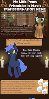 Transformation Meme Dusk Shadow by MylittleSheepy