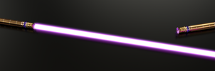 Royal Lightsaber ~ By Ett'S ~ For master Melian :D by Etrelley