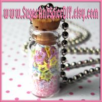 Jar Full Of Stars Necklace I by SugarAndSpiceDIY