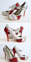 Vegas Wedding Shoes by ponychops