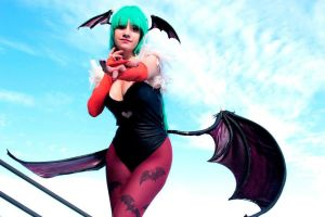 Morrigan Aensland by Ariichuu