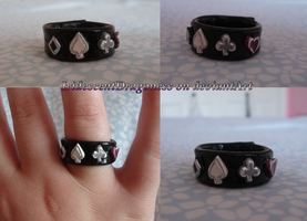 Ace (Asexual) Pride Ring by IridescentDragoness