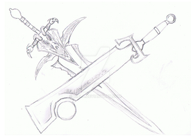 Wow Swords WIP by Riala