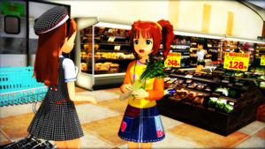 Supermarket, Yayoi Knows Best by AsrialTerra